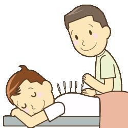 鍼灸のイラスト